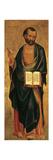 Saint Mark Prints by Lorenzo Veneziano