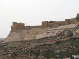 Kerak Castle, 1142, Jordan. Crusaders Began the and Held it for 46 Years Photo