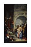 Presentation at the Temple Prints by Francesco Francesco Lorenzi