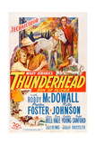 Thunderhead, Son of Flicka, from Left: Rita Johnson, Preston Foster, Roddy Mcdowall, 1945 Giclee Print