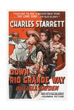Down Rio Grande Way, Charles Starrett (Left), Russell Hayden (Right), 1942 Prints