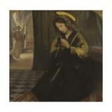 Annunciation Art by Giuseppe Ricci
