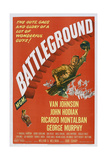 Battleground, Van Johnson, 1949 Poster