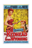 The Redhead from Wyoming, Maureen O'Hara, Alex Nichol, 1953 Prints