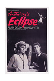 Eclipse, (Aka L'Eclisse), Bottom L-R: Monica Vitti, Alain Delon, 1962 Poster