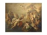 Venus and Psyche Among the Olympian Gods Prints by Pier Antonio Novelli