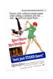 Don't Just Stand There!, Bottom from Left: Mary Tyler Moore, Robert Wagner, 1968 Posters