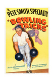 Bowling Tricks, 1948 Posters