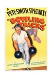 Bowling Tricks, 1948 Print