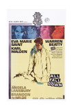 All Fall Down, from Top: Eva Marie Saint, Warren Beatty, 1962 Posters