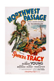 Northwest Passage, from Left: Spencer Tracy, Robert Young, 1940 Posters