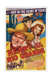 Heart of the Rio Grande, from Left: Gene Autry, Smiley Burnette, Fay Mckenzie, 1942 Prints