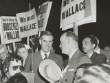 Vice-President Henry Wallace at the Democratic National Convention in Chicago, July 20, 1944 Posters