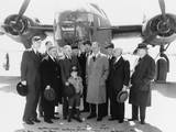 Senator Truman's Committee Visits the Ford Motor Company on April 13, 1942 Photo