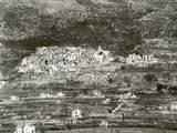 General View of San Pietro on Mt. Sammucro after the Battle of San Pietro in Dec. 1943 Print