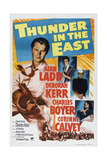 Thunder in the East, from Top Left: Alan Ladd, Deborah Kerr, Charles Boyer, Corinne Calvet, 1952 Art