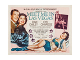 Meet Me in Las Vegas,1956 Print