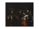 Martyrdom of Saint Ursula (Stares at Arrow in Her Chest) Posters by  Caravaggio