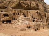 Nabataean Tombs in the Street of Facades Print