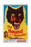 The Hound of the Baskervilles, 1959 Posters