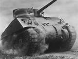 The Sherman Tank Was the Primary Battle Tank of the U. S. and Western Allies from 1942-45 Foto