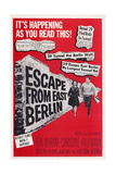 Escape from East Berlin, 1962 Prints