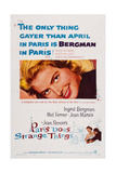 Paris Does Strange Things, (Aka Elena and Her Men), Ingrid Bergman, 1956 Prints