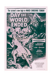 Day the World Ended, from Top: Lori Nelson, Richard Denning, 1955 Posters
