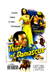 Thief of Damascus, Top: Jeff Donnell; Center: Paul Henreid, 1952 Posters