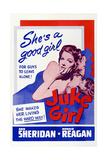 Juke Girl, Ann Sheridan, Ronald Reagan, 1942 Poster