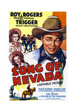 Song of Nevada, Left from Top: Dale Evans, Mary Lee, Right: Roy Rogers, 1944 Prints