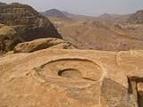 High Place of Sacrifice with the Mensa Sacra, Petra, Jordan. 1st C. B.C. Photo