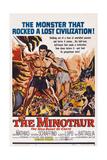 Minotaur, the Wild Beast of Crete, 1960 Print