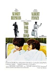 Two for the Road, from Left, Audrey Hepburn, Albert Finney, 1967 Prints