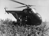 U. S. Marines Make a Helicopter Invasion on Hill 812 Photo