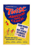 Twist around the Clock, 1961 Art