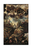 Moses with Bronze Serpent During the Plague of Snakes Posters by Jacopo Robusti Tintoretto