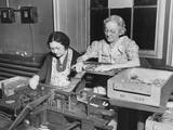 Mothers of the Assembly Line Perform Clip Spring and Bolt Assembly at the Frankford Arsenal Prints