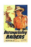 Durango Valley Raiders, Bob Steele, 1938 Print