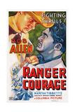 Ranger Courage, Top Left: Bob Allen, 1937 Posters