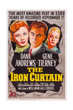 The Iron Curtain, Gene Tierney, Dana Andrews, June Havoc, 1948 Prints