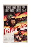 Les Miserables, Michael Rennie, (Beard), 1952 Prints