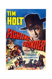 Fighting Frontier, Tim Holt, 1943 Poster