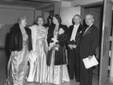 Presidential Party Arrives at the Truman-Barkley Dinner at the Mayflower Hotel, Jan. 18, 1948 Photo