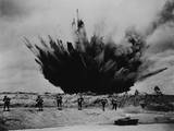 U.S. Soldiers in Training with Live Explosives, Ca. 1941-43, World War 2 Prints