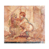 Cupid Playing with Panther, C. 62-79 Prints