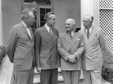 President Harry Truman with the Men Who Guided U.S. Policy Through the First Years of the Cold War Photo