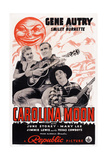 Carolina Moon, from Left: June Storey, Gene Autry, Smiley Burnette, 1940 Prints