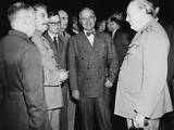 Allied Leaders at the Potsdam Conference, July 17- Aug. 2, 1945 Photo
