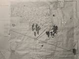 Operation Husky Battle Plan for the Invasion of Sicily in the White House Map Room, August 1943 Photo